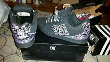 DC Shoes Womens size 9- WORN ONCE PERFECT CONDITION (shipping included in price)