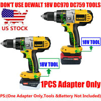 1x PORTER-CABLE 20V Battery To Dewalt 18V System Cordless Tools Adapter-US STOCK