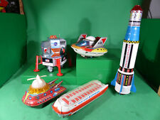 großes Lot Space Toys aus Japan,China,DDR - Dachbodenfund Blech / Tinplate