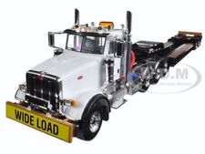 PETERBILT 367 TRI AXLE LOWBOY TRAILER 1/50 DIECAST MODEL BY FIRST GEAR 50-3349