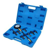 COMPRESIMETRO motores GASOLINA 8 piezas  compresion - Compression test kit 8 pcs