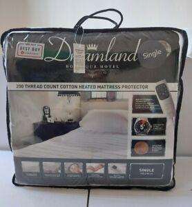 NEW Dreamland Hotel Botique 200 Thread Electric Blanket Single 190 x 90cm