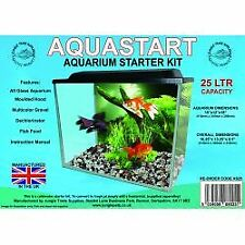 Aquastart Aquarium Starter Kit   Fish