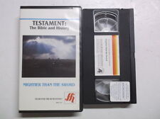 Testament : The Bible and History: Mightier than the Sword VHS Tape