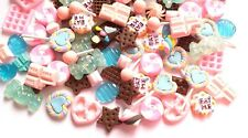 5/10/20/50pc eat me candy kawaii cabochons DECODEN sweets Fake candy cabs
