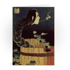 ac32b325441fc Japanese Ghost Greetings Card - Katsushika Hokusai