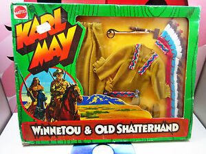 KARL MAY Winnetou Old Shatterhand Clothes Outfit Indian Chief Mattel 1975 Rare
