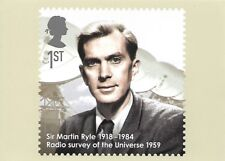 ROYAL MAIL STAMP POSTCARD<>EMINENT BRITONS<>SIR MARTIN RYLE