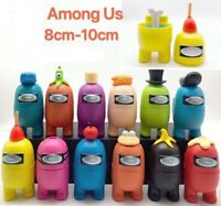 Among Us Game PVC Action Figure Separable Toy Cake Topper Toys Kids Xmas Gift