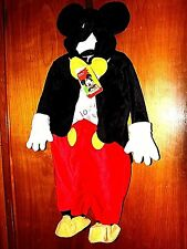 NEW DISNEY MICKEY MOUSE HALLOWEEN COSTUME BOYS SIZE 3-6 MONTH BABY NWT