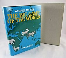 Werner Trense The Big Game of the World Trophy Game Animal Hunting RARE Book