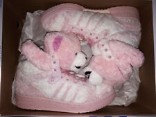 2010 ADIDAS JEREMY SCOTT JS BEAR TEDDY PINK UK 7,5 US 8 tiger G44001 zebra panda