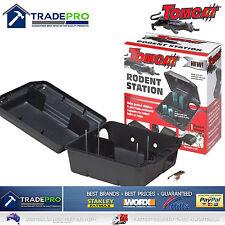 Tomcat Rat Bait Station Genuine Quality Lockable Tamper Weather Proof Trap