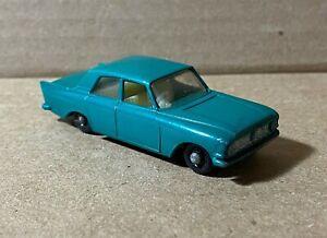Vintage Matchbox Lesney Ford Zephyr 6 No. 33 Teal EX Shape