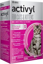 Activyl for Cats and Kittens 2-9 lbs - 6 Month Supply