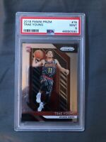2018-19 PANINI PRIZM TRAE YOUNG PSA 9 ROOKIE RC BASE #78 Ships Fast!