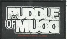 PUDDLE OF MUDD logo 2002 - WOVEN SEW ON PATCH official merch - no longer made