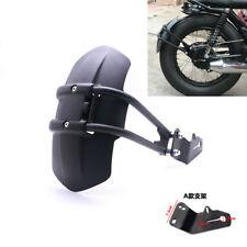 Retro Vintage Black Rear Wheel Fender Splash Mudguard Guard Cover For Dirt Bike