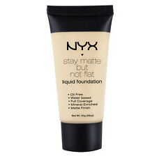 NYX Stay Matte But Not Flat Liquid Foundation SMF04 - Creamy Natural