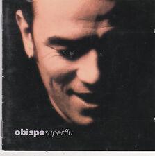 """CD 13T PASCAL OBISPO """" SUPERFLU"""" 1996 ( ZAZIE)"""