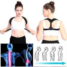 Posture Corrector Adjustable Back Shoulder Belt Support Body Brace Back Unisex