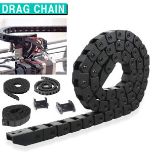 Cable Drag Chain Nested Wire Towline Carrier Track For CNC Machine Router 1M