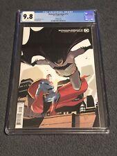 Batman/Superman 12 9.8 CGC Variant Cover