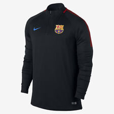 NIKE FC BARCELONA DRY SQUAD DRILL TOP 2017/18 Black