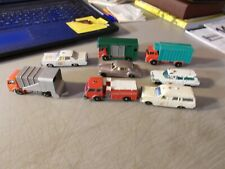 LOT OF 8 VINTAGE LESNEY MATCHBOX 2 AMBULANCE POLICE CAR FIRE TRUCK  ROLLS + MORE