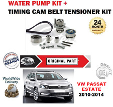 Pour VW Passat Estate 1.6 2.0 Tdi 4Motion 2010-2014 Kit Courroie Distribution +