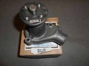 365 WATER PUMP 1975-77 Ford Mercury 200 6-cylinder engine