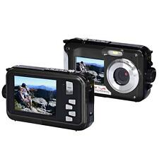 Double Screen Waterproof Camera 24MP 16x Digital Zoom Dive Camera Full HD CMOS