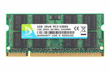 DDR2 1GB PC2-5300 RAM Memory SODIMM Laptop Notebook 200Pin 667Mhz PC5300 1.8V