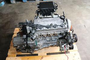 1996-2000 Honda Civic 1.6L D16Y7 SOHC Engine B4RA Automatic Transmission  A/T