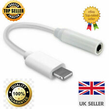 Adapter for iPhone - Lightning To 3.5mm Jack Connector Headphone Earphone Aux UK