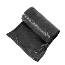 50pc/roll Garbage Trash Bags Durable Disposable Plastic Home Kitchen Dustbin Bag
