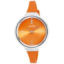 Calvin Klein Lively Orange Dial Ladies Watch K4U231YM