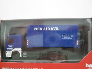 1:87 (H0) Herpa MB Actros MP2 WLF mit AB Strom  des THW, OV Cloppenburg in OVP !