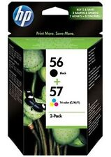 2 HP Druckerpatronen Tinte Nr. 56 BK / Nr. 57 tri-color Multipack
