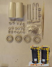 P&D Marsh N Gauge N Scale M42 Chemical storage tanks (2) kit requires painting
