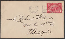 """#615 2¢ """"HUGUENOT-WALLOON"""" FIRST DAY COVER BL2497"""