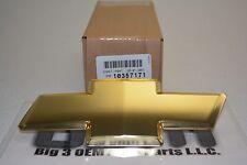 Chevrolet Trailblazer Colorado Gold Bow Tie Grille Emblem new OEM 10357171