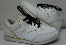 1980s Vintage Reebok Thailand Spring System Tennis Walking Shoes 80s Womens Sz 8