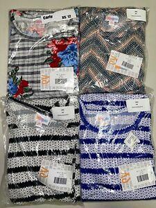 4 LuLaRoe Carly Dress Size XS 12