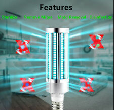 60W UV Germicidal Lamp Ozone Ultraviolet Led UVC Light Bulb E26/E27 Corn Shape