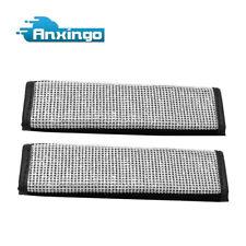 2Pcs Bling Rhinestones Car Safety Seat Belt Shoulder Pad Cover Cushion