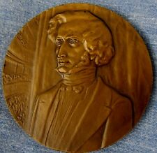 FRENCH COMPOSER HECTOR BERLIOZ CLASSICAL MUSIC M. CANBMAH Bronze Medal 60mm N140