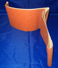 "6"" x 48"" Sanding Belt - 80 Grit - 3M GARNET CLOTH X WT. CLOSED COAT - 1 EA. NEW"