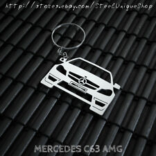 Mercedes C 63 AMG Stainless Steel Keychain