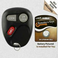 Car Transmitter Alarm Remote Key Fob Control for 2001 2002 Chevrolet Tahoe 968
